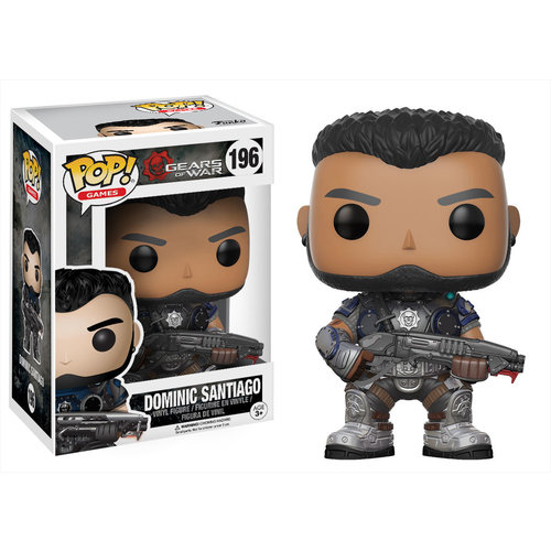 Gears of War Funko Pop - Dominic Santiago - No 196