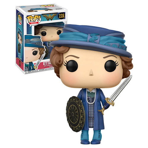 Wonder Woman Funko Pop - Etta Candy - No 228