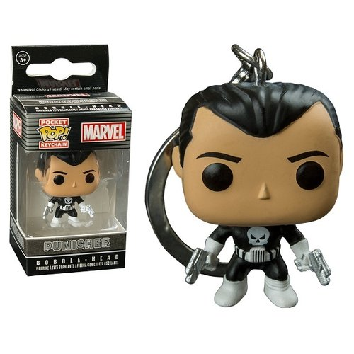 Marvel Funko Pocket Keychain - Punisher