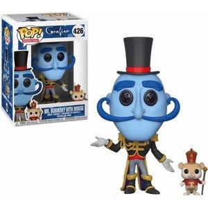 Coraline Funko Pop - Mr. Bobinsky with Mouse - No. 426