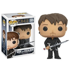 Once Upon a Time Funko Pop - Hook with Excalibur - No. 385