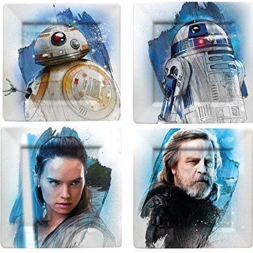 Star Wars Star Wars - Melamine  Borden Set - The Resistance (4 stuks)