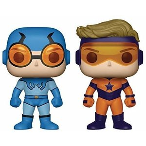 DC Comics Funko Pop - Blue Beetle & Booster Gold - 2 Pack