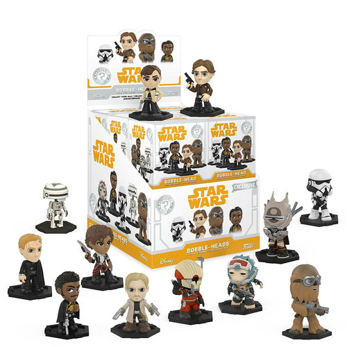 Star Wars Funko Mystery Minis - Star Wars - Solo - Bobble Head