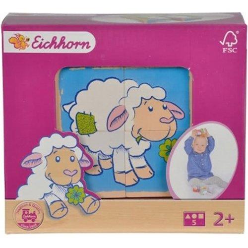 Eichhorn Bilderwürfel Schafe