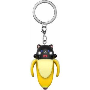 Bananya Funko Pocket Keychain - Black Bananya