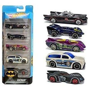 Hot Wheels Batman - 5 Pack