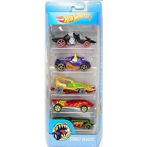 Hot Wheels Street Beasts - 5 Pack