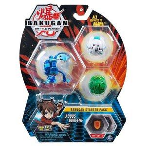 Bakugan Starter Pack met 3 Bakugan - Aquos Goreene