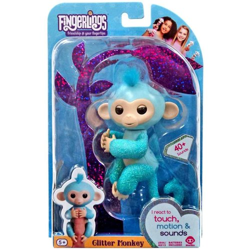 Fingerlings Fingerlings - Glitter Monkey - Amelia