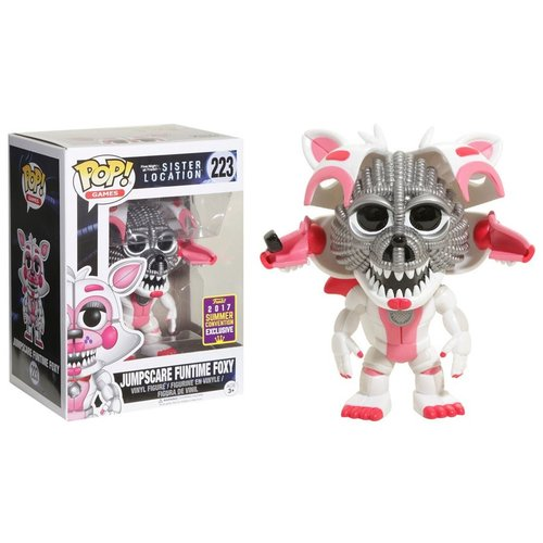 Five Nights at Freddy's Funko Pop - Jumpscare Funtime Foxy - No 223