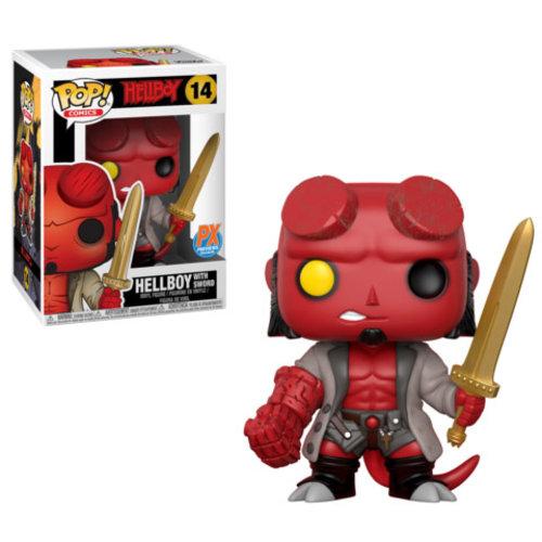 Hellboy Funko Pop - Hellboy with Sword - No 14
