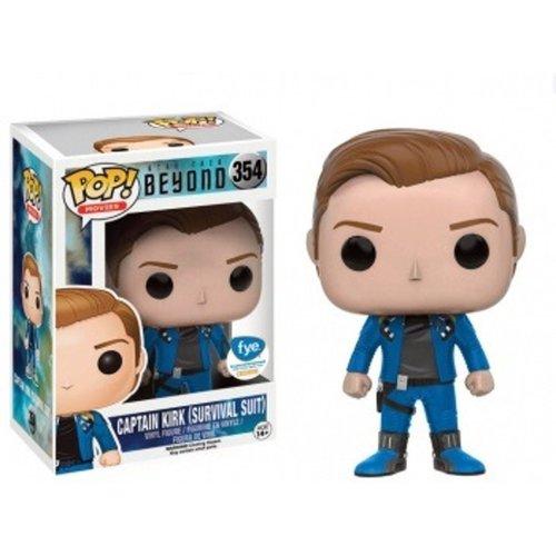 Star Trek Funko Pop - Captain Kirk (Survival Suit)  - No 354