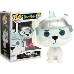 Rick And Morty Funko Pop - Snowball (Flocked) - No 178