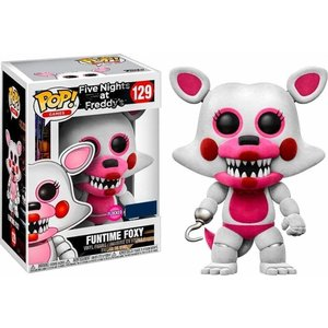 Five Nights at Freddy's Funko Pop - Funtime Foxy (Flocked) - No 129