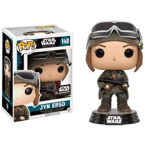 Star Wars Funko Pop - Smugglers Bounty Exclusive!: Jyn Erso - No 148