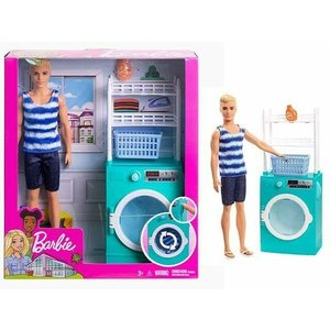Barbie Barbie - Laundry Room Playset