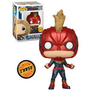 Marvel Avengers Funko Pop - Captain Marvel - No 425 - CHASE