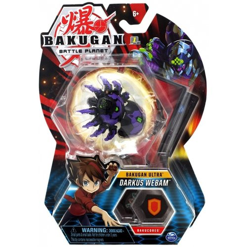Bakugan Battle Brawlers - Darkus Webam Ultra