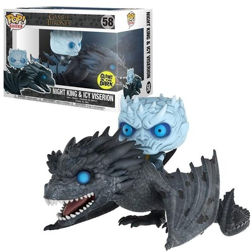 Game of Thrones Funko Pop - Night King & Icy Viserion - No. 58