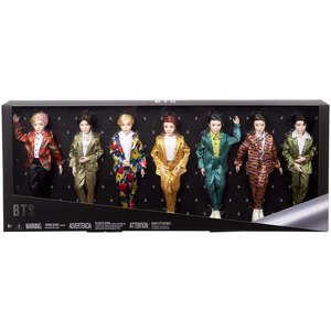 BTS BTS - Fashion Doll, Gift Set - 7 - Pack