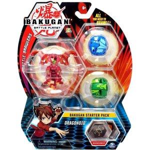 Bakugan Starter Pack met 3 Bakugan - Dragonoid