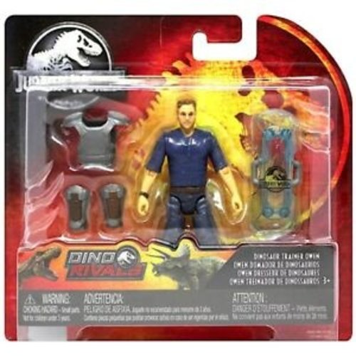 Jurassic World Dino Rivals - Dinosaur Trainer Owen