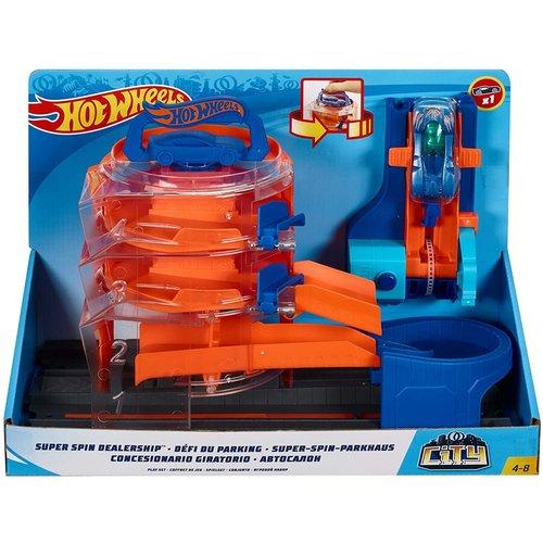 Hot Wheels City - Super Spin Dealership