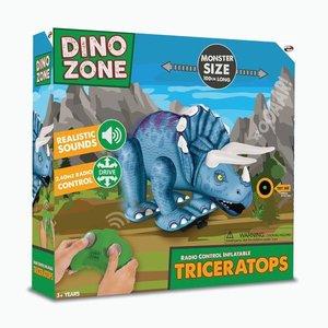 Dinozone Radio Control Inflatable Triceratops