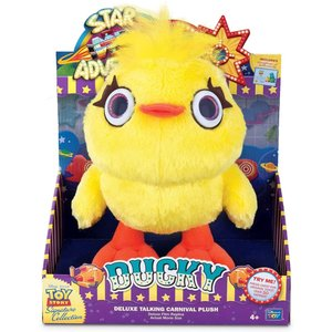 Toy Story Ducky Deluxe Talking Carnival Pluche