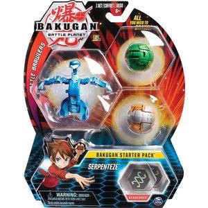 Bakugan Starter Pack with 3 Bakugan - Serpenteze