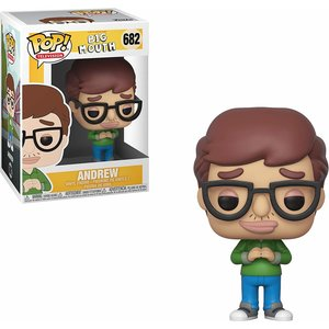 BigMouth Inc. Funko Pop - Andrew  - No 682 - SALE