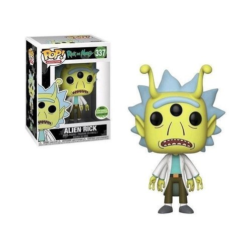 Rick And Morty Funko Pop - Alien Rick - No 337 - SALE