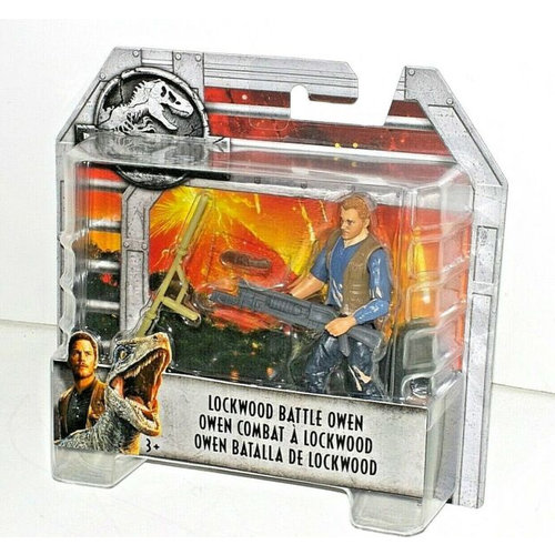 Jurassic World Dino Rivals - Lockwood Battle Owen