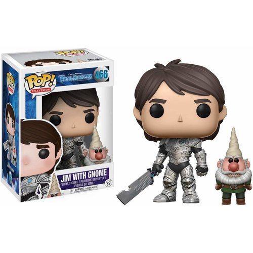 Trollhunters Funko Pop - Jim With Gnome - No 466 - SALE