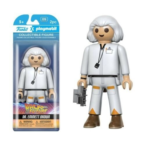 Back to the Future Funko Playmobil - Dr. Emmett Brown - SALE