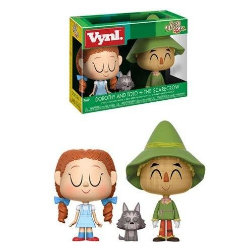 The Wizzard of Oz Funko Vynl - Dorothy and Toto + The Scarecrow - SALE