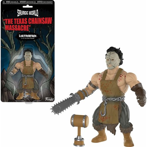 Texas Chainsaw Massacre Funko Savage World - Leatherface  - SALE