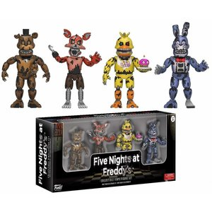 Five Nights at Freddy's Funko - Nightmare Freddy, Nightmare Foxy, Nightmare Chica , Nightmare Bonnie- 4 pack - SALE