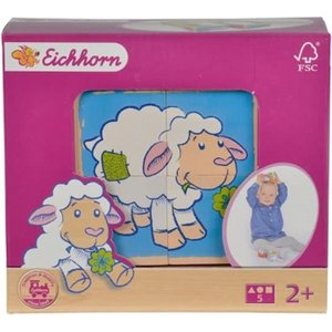 Eichhorn Picture Cubes Sheep - SALE