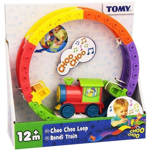 Tomy Tjoeke Tjoeke Loepje -  Lokomotief op Rails