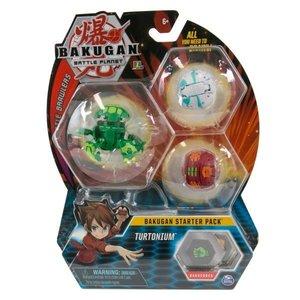 Bakugan Starter Pack met 3 Bakugan - Turtonium