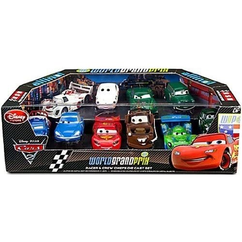 Disney Cars World Grand Prix - Racer & Crew Chiefs Diecast Set (10-Pack) (1:43) - SALE