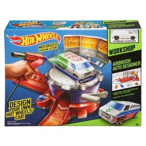 Hot Wheels Air Brush Auto Design Combo Pack - Workshop - SALE