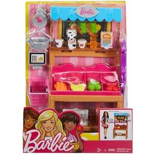 Barbie Marktkraam met Accessoires