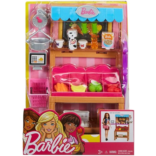 Barbie Accessory Set Market Stall