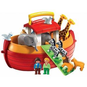 Playmobil 1-2-3 - 6765 -  My Take Along Noah Ark - SALE