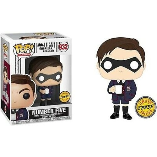 The Umbrella Academy Funko Pop - Number Five - No 932 - CHASE