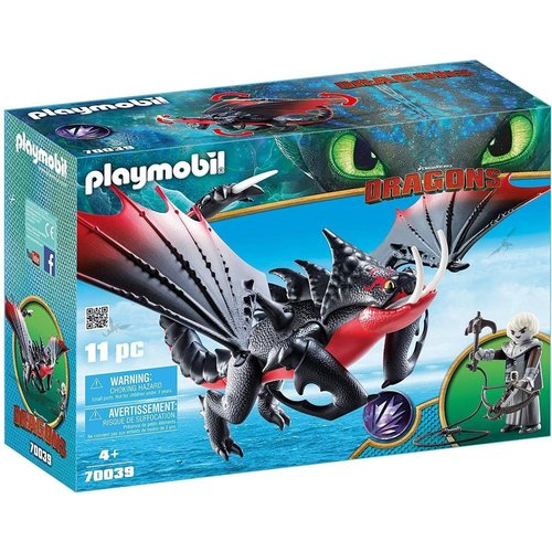 Playmobil Dragons - 70039 - Deathgripper with Grimmel