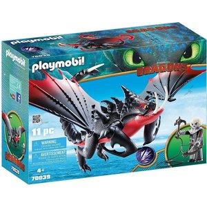 Playmobil Dragons - 70039 - Dodenklauw en Grimmel - SALE